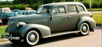 1939 Chevy European