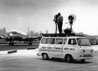 Live Van at Airport