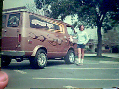 """Pat Birdwell's 69 Chevy Z28 Van """"Squeeze Box"""""""