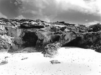 Rock formation, Elizabeth Island, Exuma, Bahamas