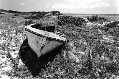 Old boat, Acklins Island, Bahamas