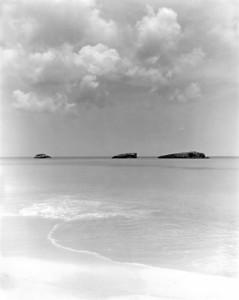 The three sisters, Exuma, Bahamas