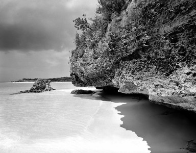 Cave Wall, Moriah Harbour Cay, Exuma, Bahamas