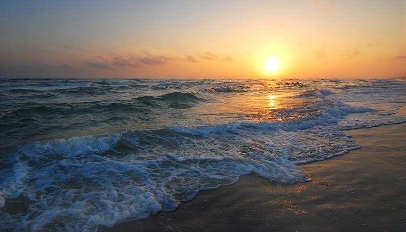 Grafton Beach Sunset