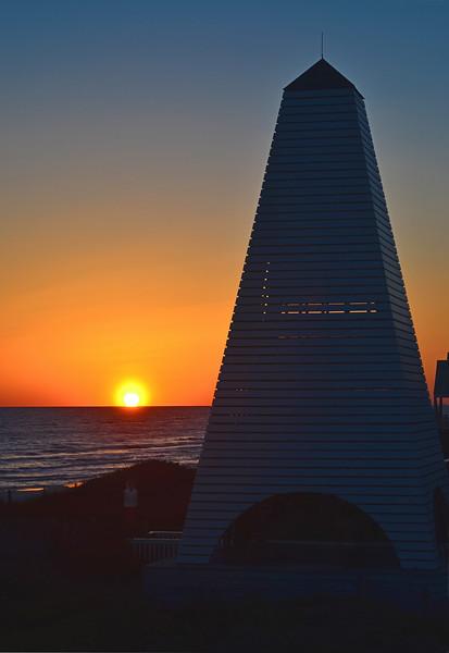 Coleman Pavilion Sunset