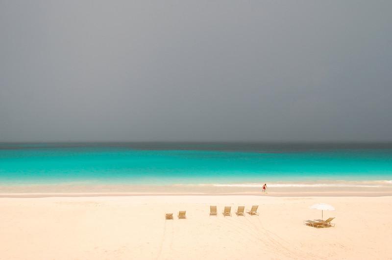 Summer storm, Pink Sands Beach, Harbour Island, Bahamas
