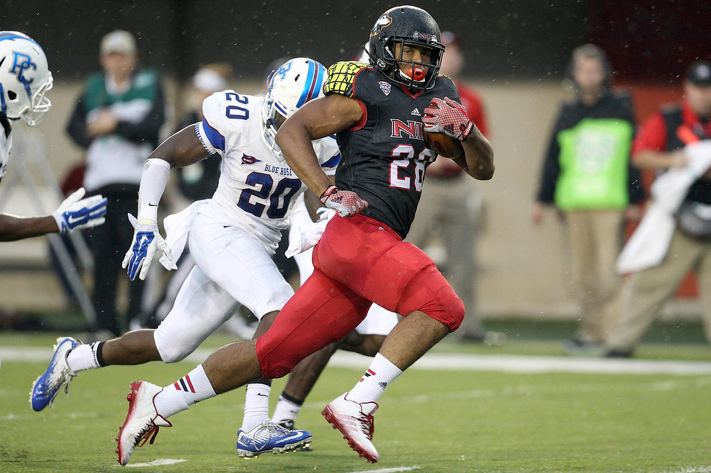 NCAA FOOTBALL: AUG 28 Presbyterian at Northern Illinois