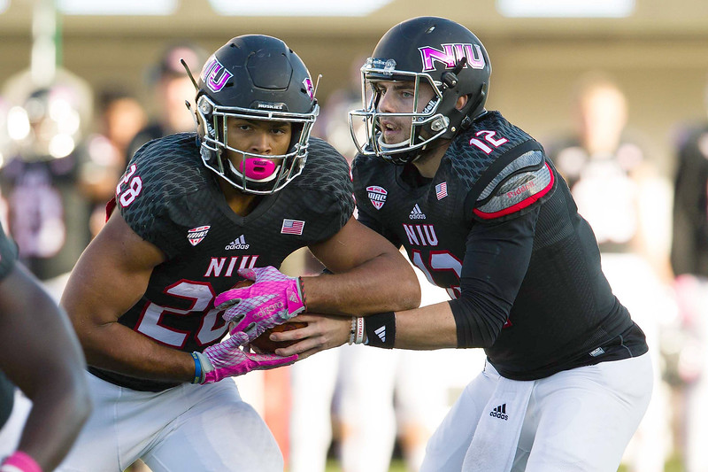 NCAA FOOTBALL: OCT 10 Ball State at Northern Illinois