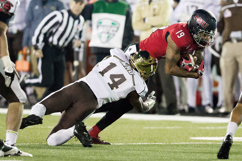 NCAA FOOTBALL: NOV 18 Western Michigan at Northern Illinois