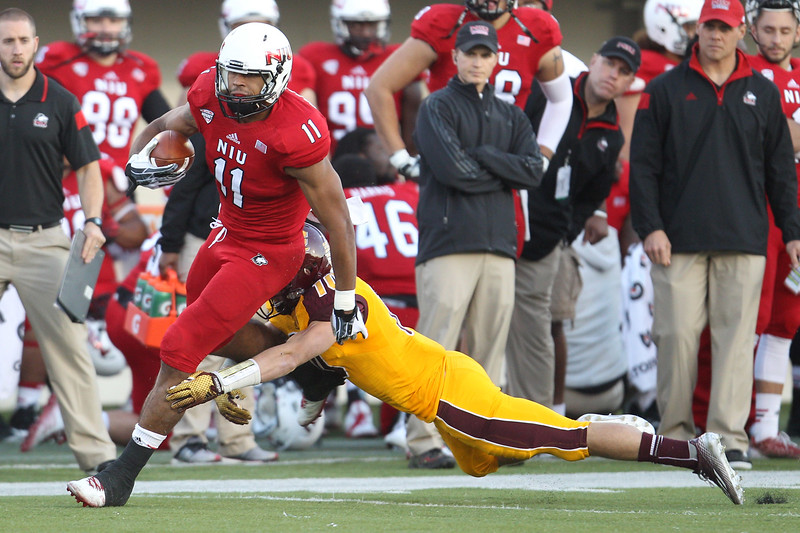 NCAA FOOTBALL: OCT 11 Central Michigan at Northern Illinois