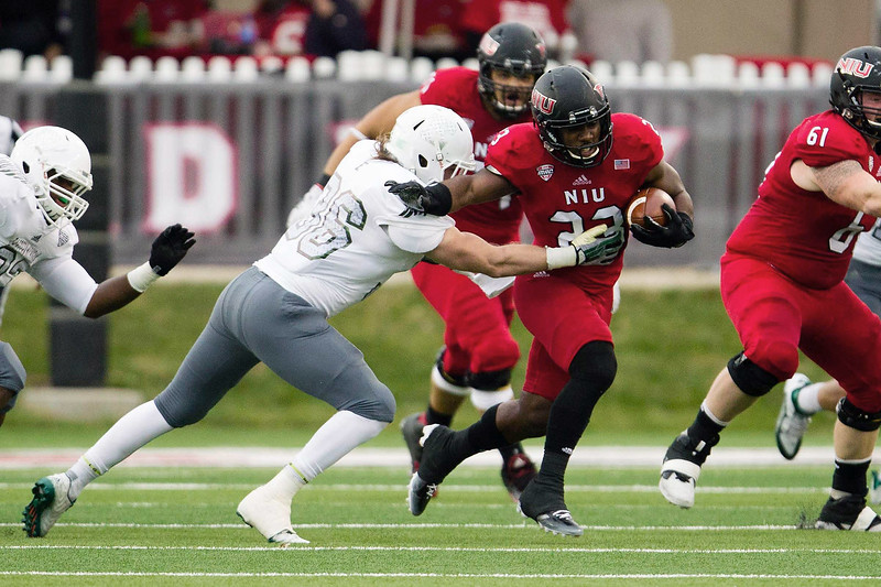 NCAA FOOTBALL: OCT 24 Eastern Michigan at Northern Illinois