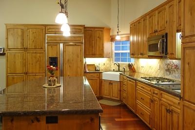 Family sized kitchen island