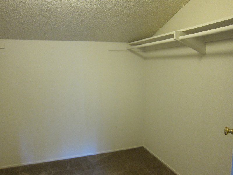 Right side of walk-in closet...
