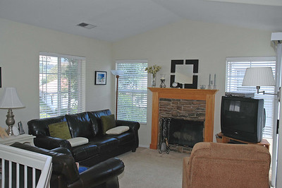 Enjoy the cozy fireplace.