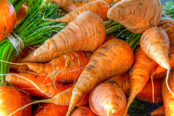 What's Up Doc?<br /> These carrots are from a new farmers market in downtown Sugar Land, TX.
