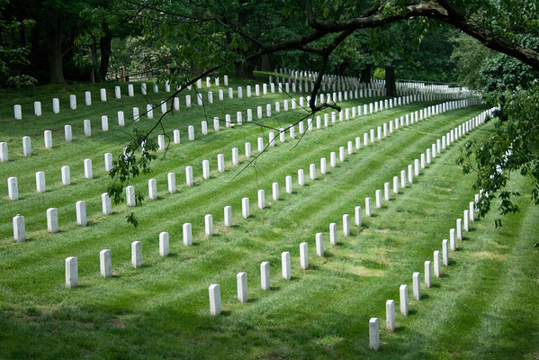 Arlington National Cemetery<br /> Arlington National Cemetery is a sobering place to see such a graphic representation of how many men and women have sacrificed, so that we may enjoy the freedoms we have.