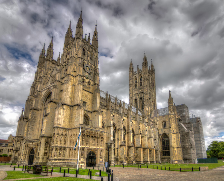 Canterbury Cathedral<br /> Wow, what a building, both in structure and history. Canterbury Cathedral in Canterbury, Kent, is one of the oldest and most famous Christian structures in England.
