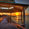 A Gazebo Sunrise<br /> Using a location app, I discovered Shoreline Park while in Pensacola this year. It proved to be a great location for this sunrise.