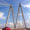 "The Fred Hartman Bridge<br /> The Fred Hartman Bridge or ""Baytown Bridge"" is 2.6 miles long and is one of only three such bridges in the state of Texas."