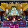Hoi Thanh Buddhist Temple<br /> Religious worship comes in many forms from many cultures. This Vietnamese Buddhist temple in southwest Houston is very  colorful and quite a site to see in person. The simple exterior of the building doesn't prepare you for the ornate worship area where Buddha sits center stage.
