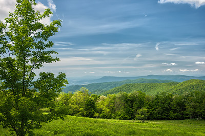 A View from the Blueridge Parkway