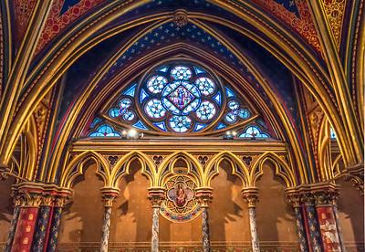 The Little Window in Sainte-Chapelle