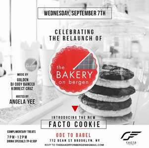 Facto Lifestyle - Facto Cookie launch at Ode To Babel (9.7.16)