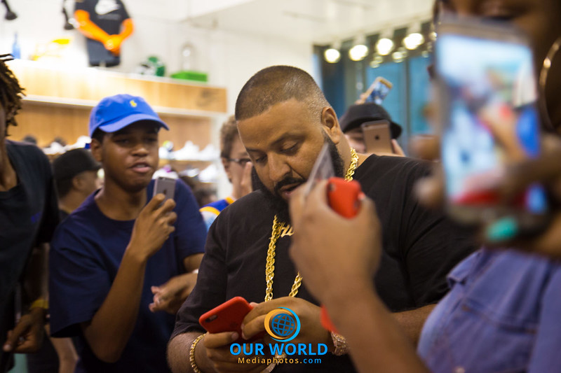 Meet DJKhaled at Jimmy Jazz
