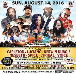 Six Flags Caribbean Concerts 11th Anniversary (8.14.16)