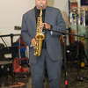 Lon Ivey's 4th Millenium Band performing at the JFK Jazz Festival