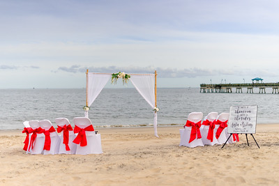 VBWC BEIL 09042019 Buckroe Beach Wedding Image #1 (C) Robert Hamm
