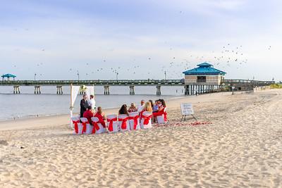 VBWC BEIL 09042019 Buckroe Beach Wedding Image #15 (C) Robert Hamm