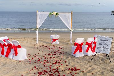VBWC BEIL 09042019 Buckroe Beach Wedding Image #12 (C) Robert Hamm