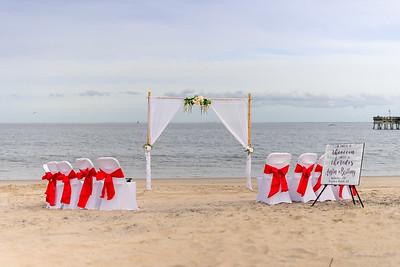 VBWC BEIL 09042019 Buckroe Beach Wedding Image #2 (C) Robert Hamm