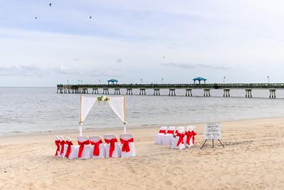 VBWC BEIL 09042019 Buckroe Beach Wedding Image #7 (C) Robert Hamm