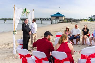 VBWC BEIL 09042019 Buckroe Beach Wedding Image #16 (C) Robert Hamm