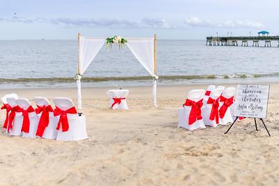 VBWC BEIL 09042019 Buckroe Beach Wedding Image #8 (C) Robert Hamm