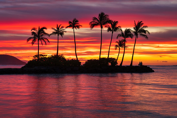 Island Morning Glow