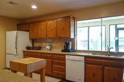 North side of kitchen
