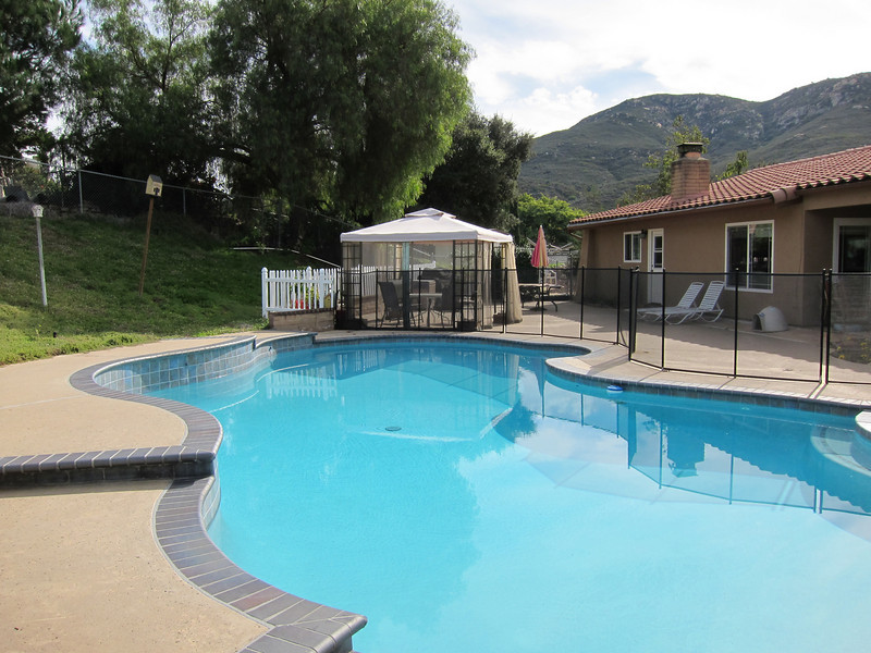 Pool was replastered, retiled and new cooping installed in 2009.
