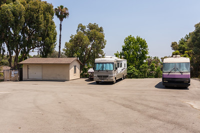 FREE RV and boat parking...when available.