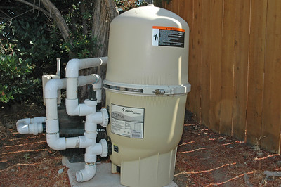 Pool filter was replaced with a new unit 6 months ago.