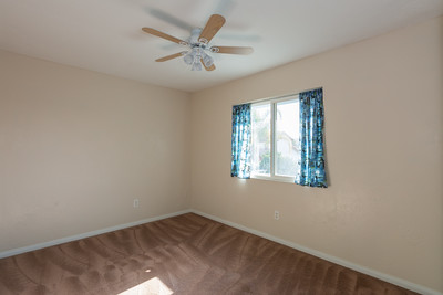 Bedroom 2 with Ceiling Fan