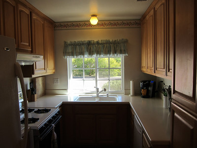 Remodeled kitchen...solid maple doors...