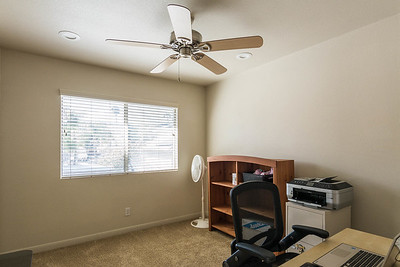Bedroom 3 with Ceiling Fan