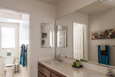 Hall Bathroom Dual Vanity
