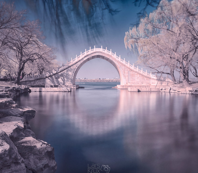 Summer Palace Beijing | Frozen | Reflection | China | Asia