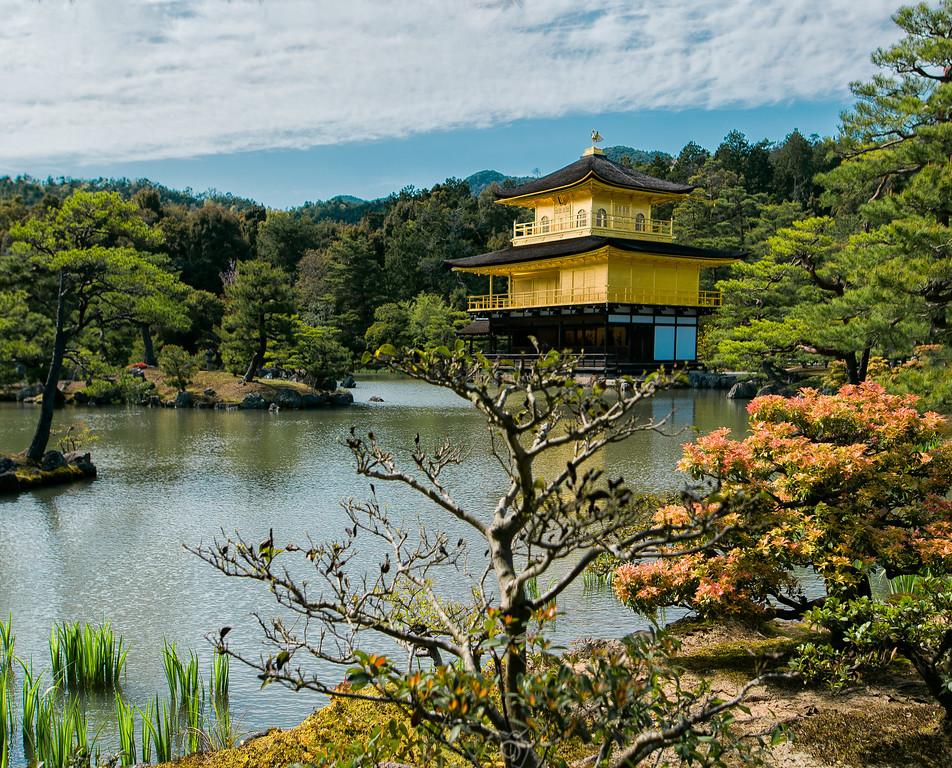 Golden Temple Kyoto, Japan