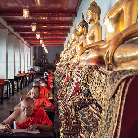 Monks in Thailand | Bangkok | Thailand | Asia