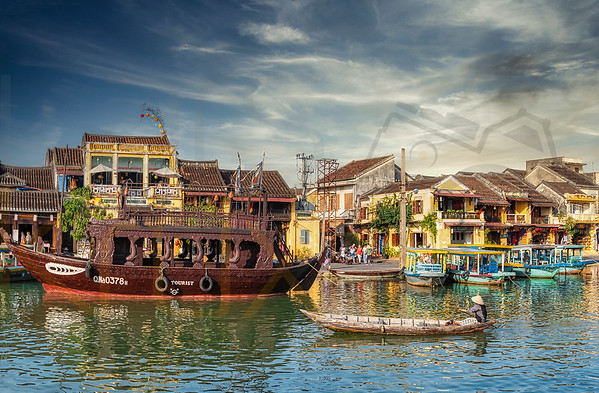 City of Hoi An, Vietnam